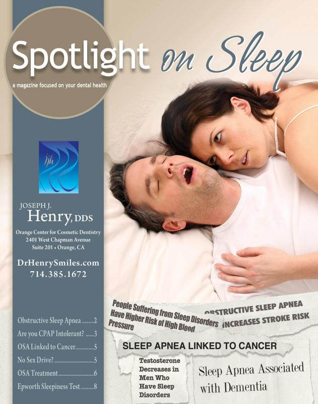 Explore Spotlight On Sleep | Magazine by Orange Center for Cosmetic Dentistry